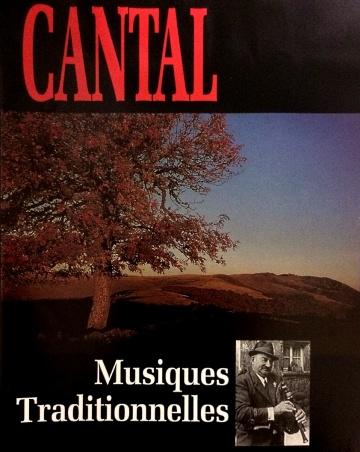 jacquette du coffret Cantal musiques traditionnelles