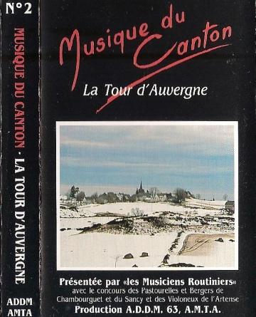 jacquette de la cassette du canton de La Tour d'Auvergne