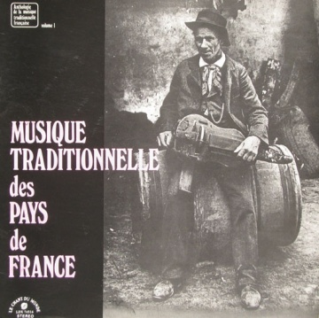 pochette du 33 tours musiques traditionnelles en france